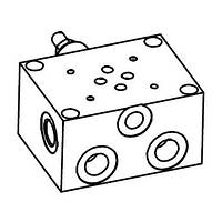 Монтажные плиты с предохранительным клапаном BASE CETOP 3 (ДУ 6)