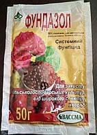 Фунгицид Фундазол (50 г) - профилактика грибковых болезней растений, защита роз,