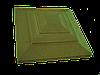 """Крышка для забора LAND BRICK """"карпаты"""" желтая 500х500 мм"""