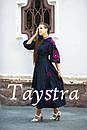 Платье женское бохо вышиванка лен, этно, стиль бохо шик, вишите плаття вишиванка, Bohemian,стиль Вита Кин, фото 6