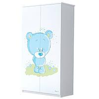 Детский шкаф Голубой Мишка BABY BOO