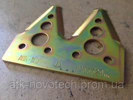 Сегмент ножа жатки подвійний, H153329 John Deere
