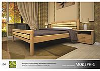 """Деревянная кровать """"Модерн-1"""""""