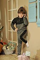 """Детский спортивный костюм """" Kids Лампасы гипюр  """" Dress Code, фото 1"""