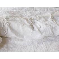 Постельное белье лен Белый ТМ Царский дом  (Полуторный), фото 3