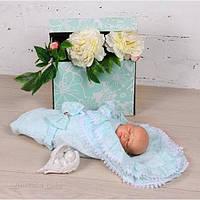 Летние конверты-одеяла для новорожденных