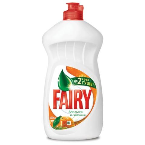 Fairy для мытья посуды Апельсин и лимонник 500 мл
