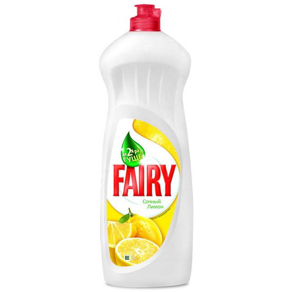 Fairy для мытья посуды Сочный лимон 1л
