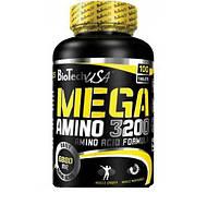 Аминокислоты BioTech Mega Amino 3200 (100 tabs)