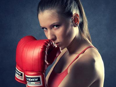 Женский бокс