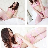 Сексуальный комплект белья Розовый