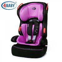 Детское Автокресло (1/2/3) (9-36 кг)4baby- Basco (7 цветов)Purple
