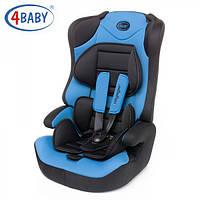 Детское Автокресло (1/2/3) (9-36 кг) 4baby- Voyager (7 цветов)Blue