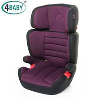 Детское Автокресло (2/3) Вес 15-36 кг Возраст 3-11 лет 4baby - Vito (6 цветов)Purple