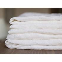 Постельное белье лен Белый ТМ Царский дом (Семейный), фото 2
