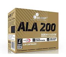 Альфа-липоевая кислота Olimp ALA 200 (120 caps)