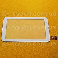 Тачскрин, сенсор  FPC-FC70S708(yld)-00 белый для планшета