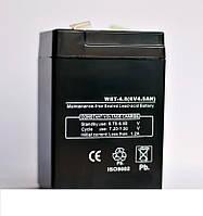 Аккумулятор для весового оборудования 6V, 4Аh