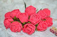 Букет розы  (цена за букет из 10 шт). Цвет - коралловый