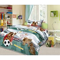 Ткань для детского постельного белья,бязь Золотой гол 3Д