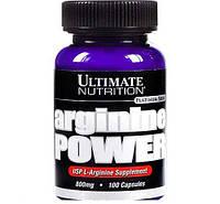Аргинин Ultimate Nutrition Arginine power (100 caps)