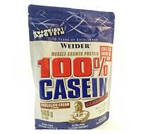 Казеиновый протеин Weider 100% Casein (0,5 kg)