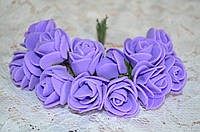 Букет розы  (цена за букет из 10 шт). Цвет - фиолетовый