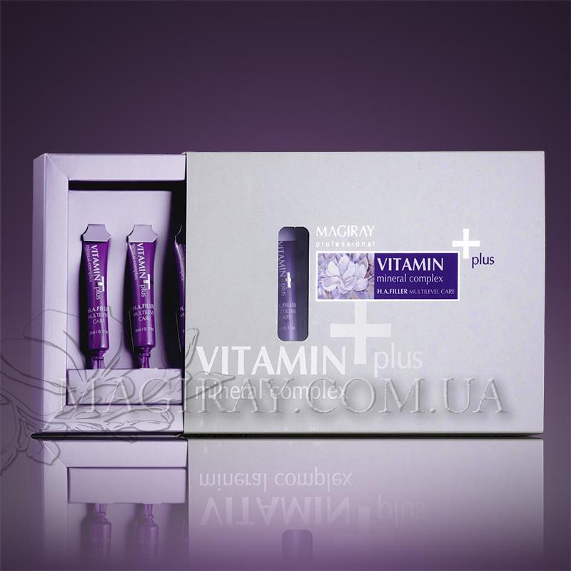 MULTILEVEL H.A.FILLER - VITAMIN+ Витамин Плюс -Ревитализация (5ml*6pcs)