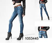 Женские облегающие   джинсы  WWW