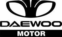 Виниловая наклейка на авто - Daewoo motor