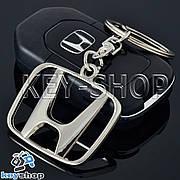 Брелок для авто ключів Хонда (Honda) металевий