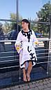 Стильное платье женское бохо вышиванка лен, этно, стиль бохо шик, вишите плаття вишиванка, Bohemian, фото 3