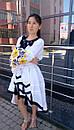 Стильное платье женское бохо вышиванка лен, этно, стиль бохо шик, вишите плаття вишиванка, Bohemian, фото 5