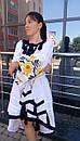 Стильное платье женское бохо вышиванка лен, этно, стиль бохо шик, вишите плаття вишиванка, Bohemian, фото 2