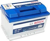 """Аккумулятор Bosch (низкий) S4 Silver 72Ah, EN 680 правый """"+"""" 278х175х175 (ДхШхВ)"""