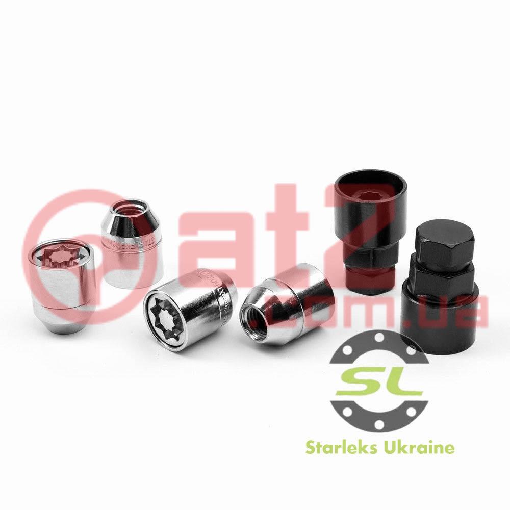 Гайка секретная М1/2х33 Конус Starleks (Премиум) Бокс