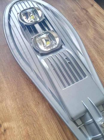 Консольный светильник LED 100W COB  6000К 11000lm с линзой