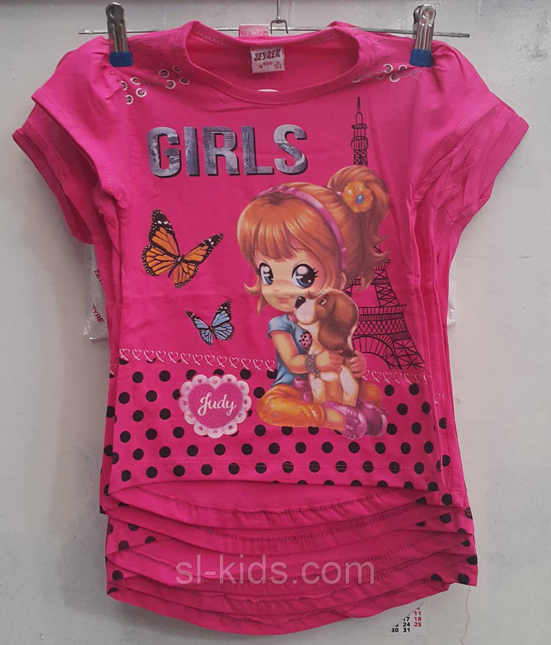 Туника для девочки 3-7 лет (Девочка1703)