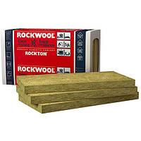 Базальтовый утеплитель ROCKWOOL Rockton 1000х610х50 (12 плит 7,32 м.кв.), фото 1