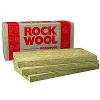 Базальтовый утеплитель  ROCKWOOL Fasrock 1000х600х50 (4 плиты 2,4 м.кв.)