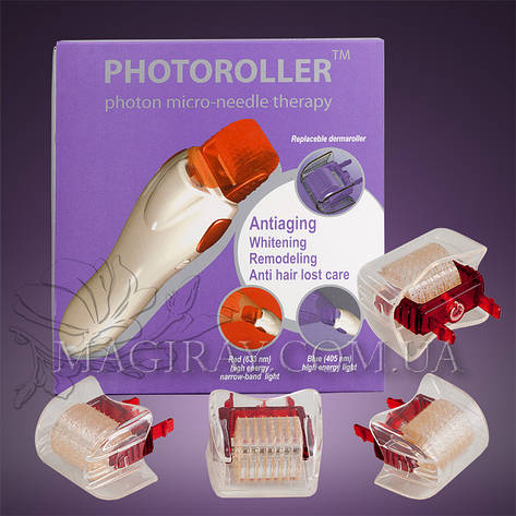 PHOTOROLLER photon micro-needle therapy - ФОТОРОЛЛЕР (red), фото 2