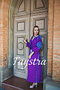 Платье  бохо вышиванка лен, этно, стиль бохо шик, вишите плаття вишиванка, Bohemian,выпускное платье, фото 3