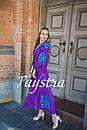 Платье  бохо вышиванка лен, этно, стиль бохо шик, вишите плаття вишиванка, Bohemian,выпускное платье, фото 4
