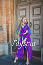 Платье  бохо вышиванка лен, этно, стиль бохо шик, вишите плаття вишиванка, Bohemian,выпускное платье, фото 6