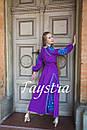 Платье  бохо вышиванка лен, этно, стиль бохо шик, вишите плаття вишиванка, Bohemian,выпускное платье, фото 5