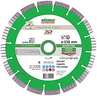 Круг алмазный Distar 1A1RSS/C3-W Maestro 125 мм сегментный отрезной диск по граниту, Дистар, Украина