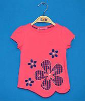 Детские футболки для девочек 1-4 года, Футболка трикотажная для девочек