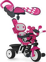 Детский металлический велосипед Smoby Комфорт