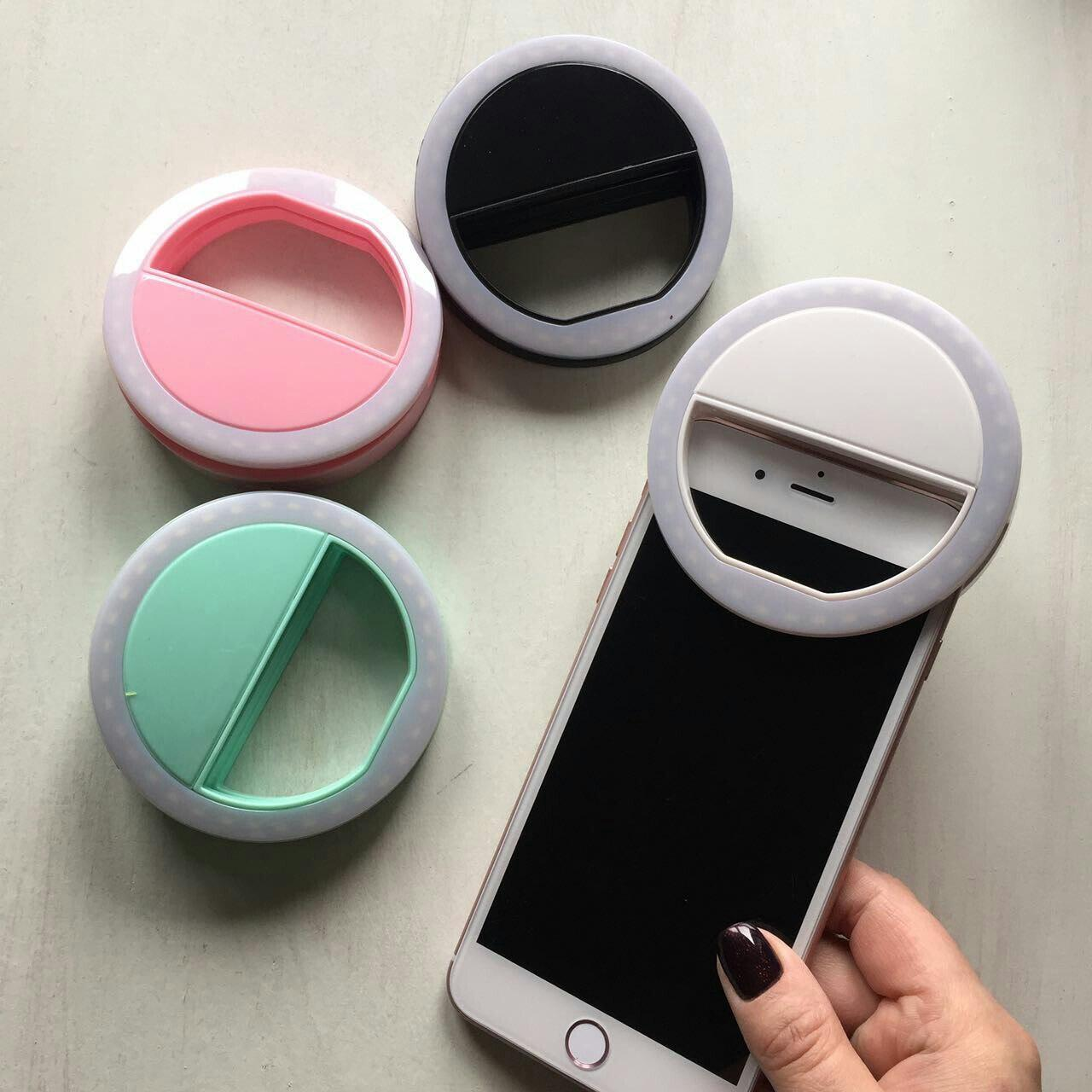 Селфи - лампа в виде кольца для смартфонов