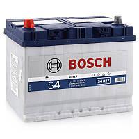 """Аккумулятор Bosch (J) S4 Silver 70Ah, EN 630 левый """"+"""" 261x175x220 (ДхШхВ)"""